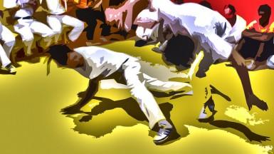Capoeira Angola Nzinga by Jon Lewis